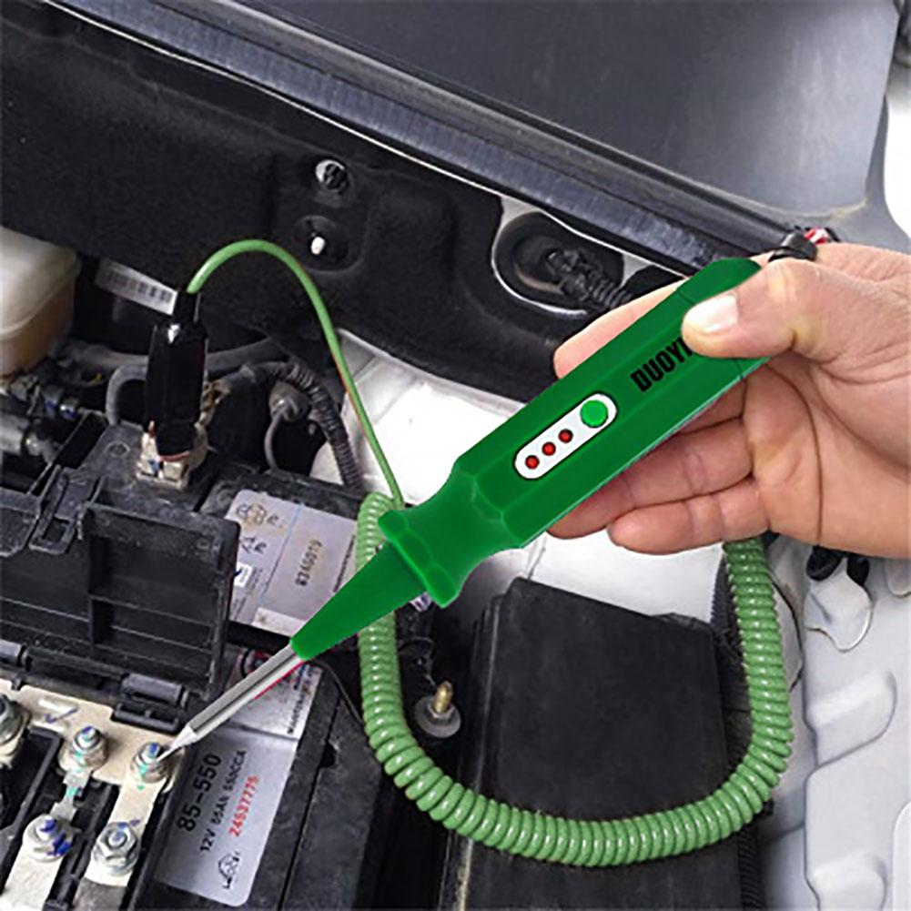 DUOYI DY10 Auto Circuit Tester Multifunctional Lamp Voltage Gauge Testing Pencil 6V-24V