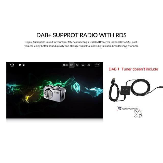 Podofo 2 din Android8.1 Car Radio GPS Multimedia Player For VW Volkswagen GOLF POLO TRANSPORTER Passat b5 BORA MK5 SHARAN JETTA