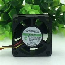 SUNON 4020 40mm x 40mm x 20mm KDE1204PKVX-A Maglev Cooler Cooling Fan 12V 3.8W 3Wire 3Pin Connector for Router 4CM(China)