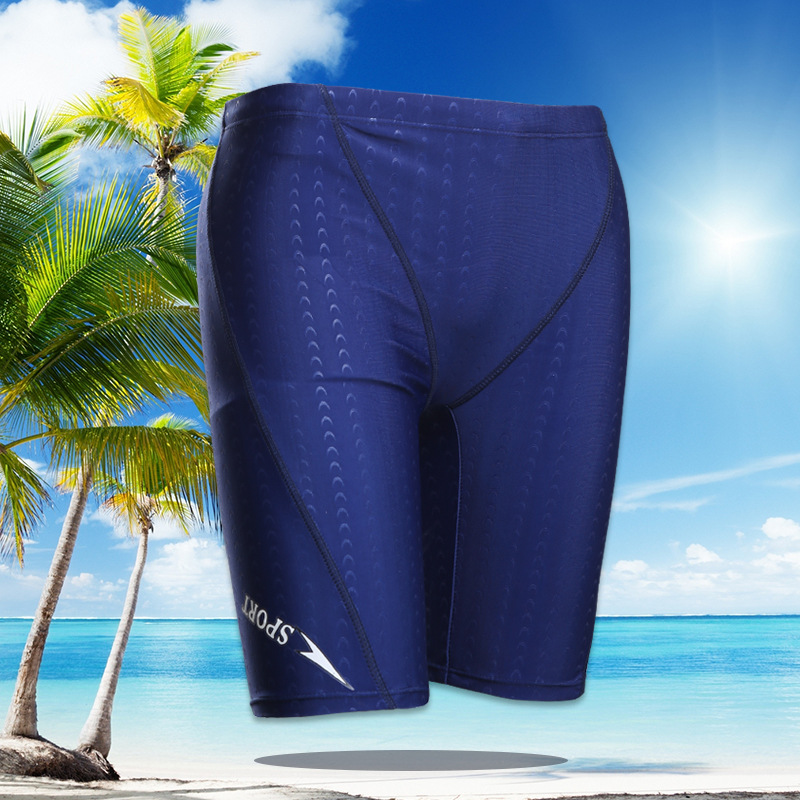 2020 New Style Swimming Trunks Men's Hot Selling Short Men's Swimming Trunks Thick Fabric
