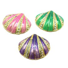 Hinged Trinket Box For Girls Handmade Shell Trinket Boxes Decorated for Women