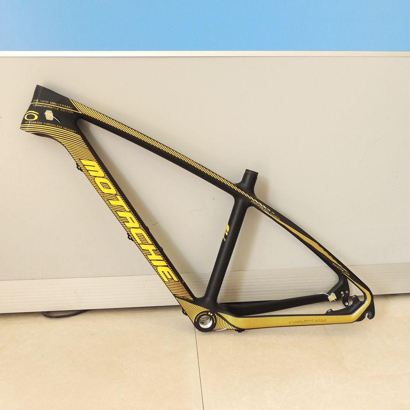 Dernières 26*17 pouces cadre de VTT en carbone 26er 27.5er carbone vtt cadre de vélo cadre en carbone 27.5er pièces de vélo