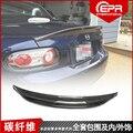 Для MX5 NC NCEC ростер Miata EPA Тип 3 2009-2015 углеродное волокно задний спойлер на крыло  крышу багажник губы крышка багажника автомобиля стиль