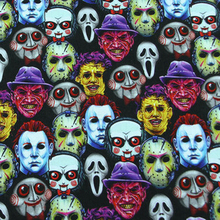 Skull Masks 100% Cotton Fabric for Clothes Patchwork Cloth Digital Printing Fabric DIY Sewing Material Hometextile Backpack
