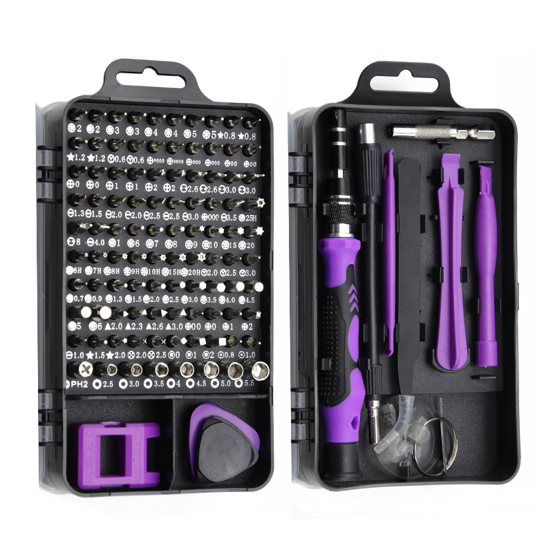 115in 1 Screwdriver Set 25 In 1 Torx Multifunctional Computer PC Mobile Phone Digital Electronic Device Repair Hand Home Tools(China)