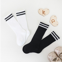 Leg-Warmers Bayi Kaki Socks Infant Long-Socks Booties Girls Stripe Kids School Knee-High