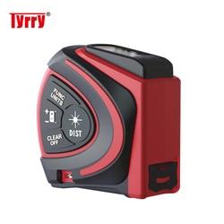 TYRRY Laser Distance Meter 40M 60M Range Finder Digital Laser Rangefinder Roulette trena Laser Tape Measure
