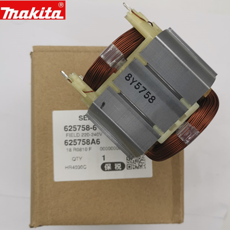 Makita 625758-6 AC220V-230V Stator Field For HR4001CX HR4011C HR4001CX2 HR4001CX1 HR4001C HR4030C