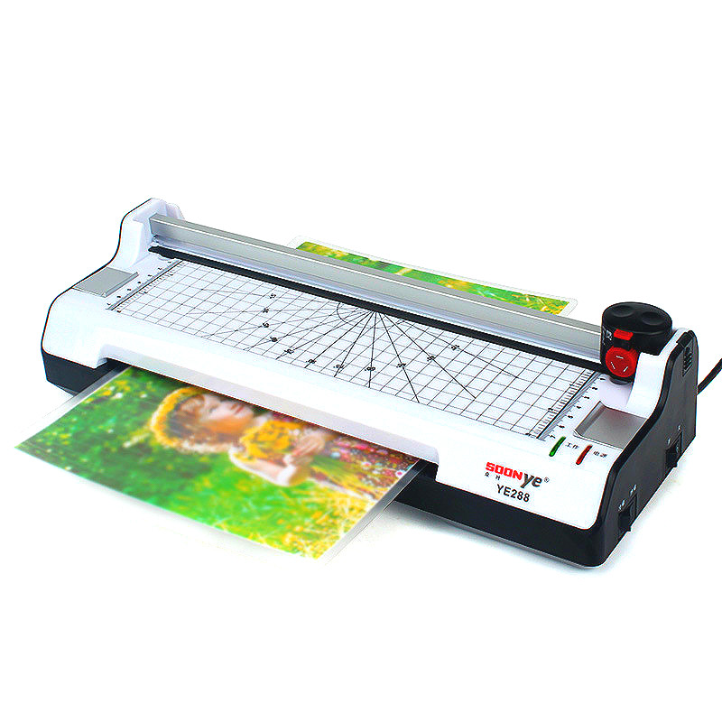 Multifunctional plastic packer packaging small office and household heat shrinkable photo laminating machine