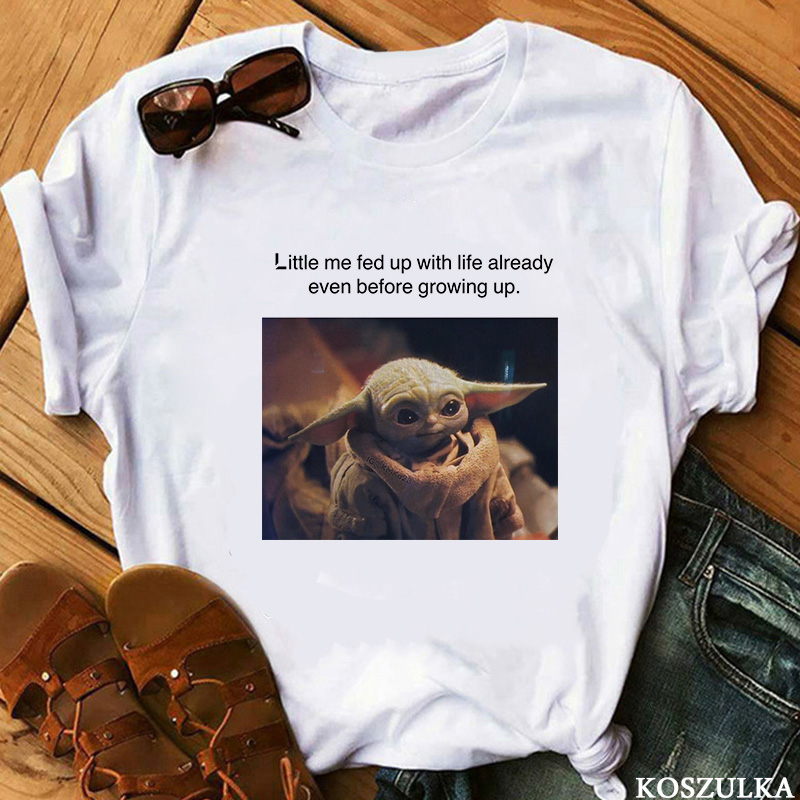 2019 The Mandalorian Baby Yoda Sweatshirt Men / Women Star Wars TV Series T-shirt 90s Science Fiction Movies T-shirts