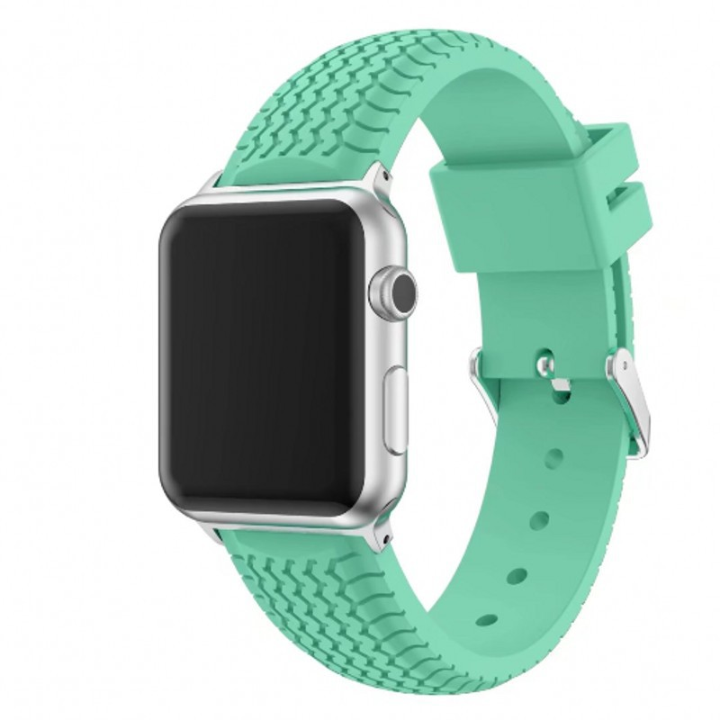 Suitable For APPLE Watch Smart Watch One Two Three Generation Universal 38/42 Size Wheel-Silicone Watch Strap