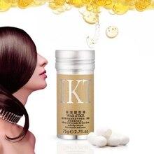 Вощеная палочка для укладки волос IKT контроль края волос гелевая палочка Slay тонкие детские волосы идеальная линия для укладки волос гладкие накладные волосы