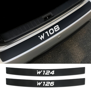 Car Rear Bumper Sticker For Mercedes Benz W205 W212 W204 W203 W210 W213 W220 W221 W222 W124 W126 W140 W168 W169 W176 Accessories image