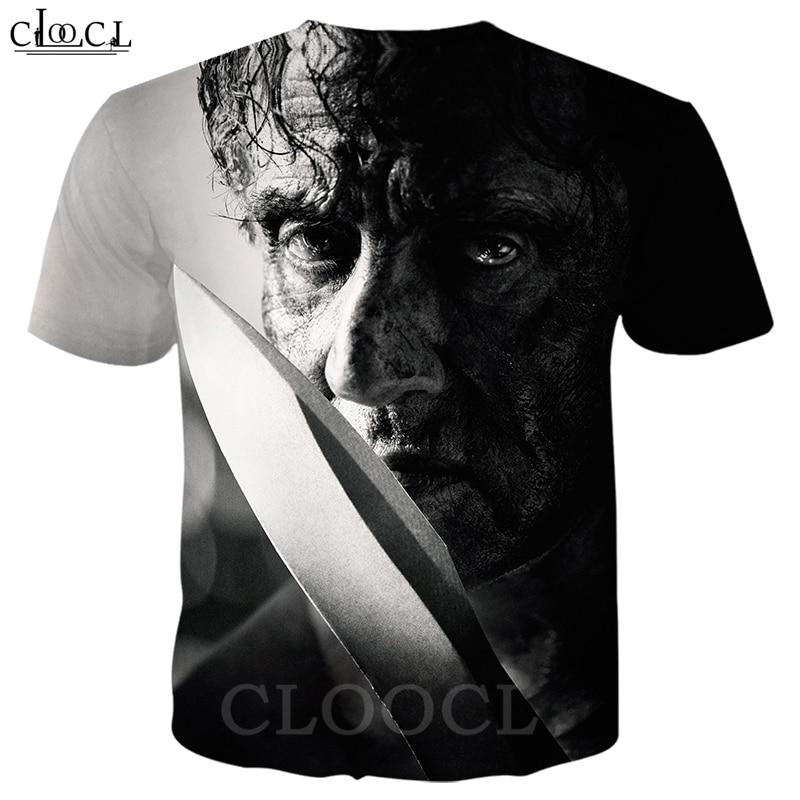 Rambo T Shirt Men Women 3D Print Last Blood Short Sleeve Cool T Shirt Sweatshirt Hippie Hipster Streetwear Tops B362 1