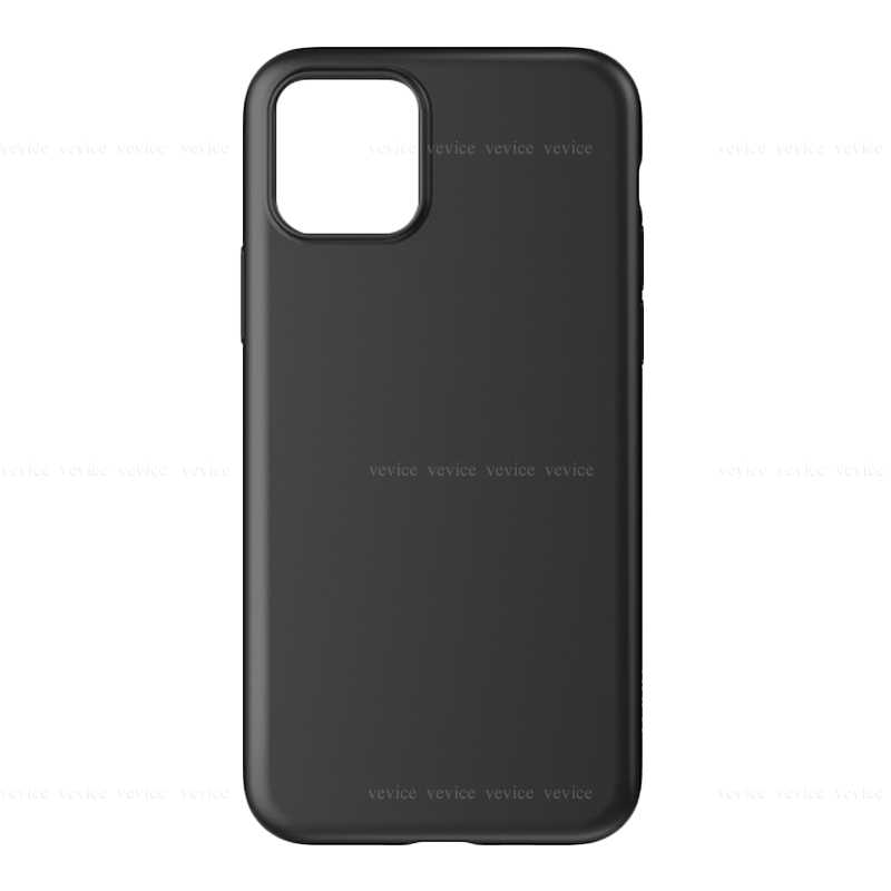 Luxe Soft Back Matte zwarte Cases voor iPhone 11Pro Max 11 5 8 7 cover Voor iPhone 8 7 Plus 11 Pro 2019 zachte Siliconen shell