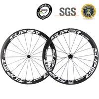 SUPERTEAM UCI Genehmigt Carbon Laufradsatz 50mm Klammer Fahrrad Räder Basalt Bremsen Oberfläche Mit R7 Hub-in Fahrrad-Rad aus Sport und Unterhaltung bei