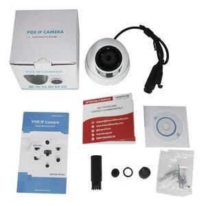 Image 5 - UniLook 5MP 미니 돔 POE IP 카메라 내장 마이크 야외 보안 CCTV 카메라 IR 30m IP66 Hivision 호환 ONVIF H.265