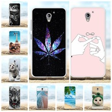 For ZTE Blade A510 Case Ultra-slim Soft TPU Silicone Cover Flowers Patterned Coque Shell