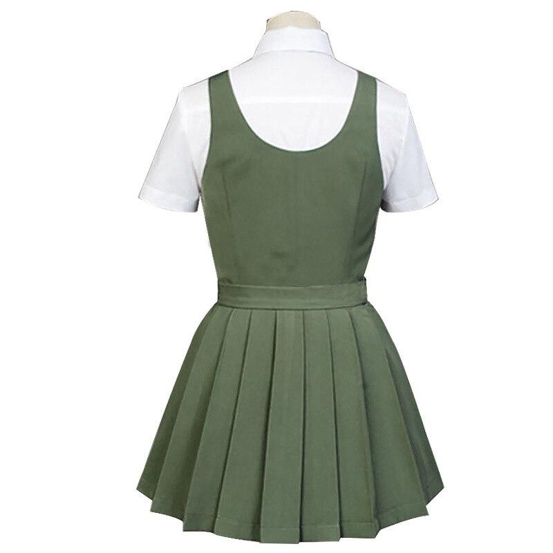 Danganronpa Koizumi Mahiru JK Uniform Cosplay Costume Halloween Fancy Dress
