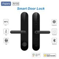 Aqara N100 Smart Door Lock Fingerprint Bluetooth Password Unlock Works With MI Mijia Apple HomeKit Smart Linkage With Doorbell
