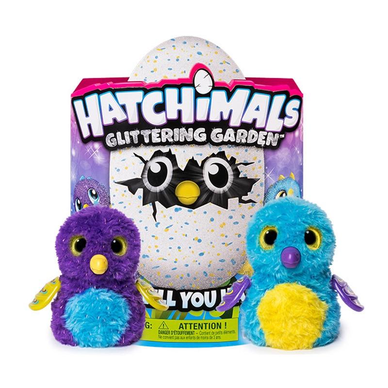 Original SPIN MASTER 17X11 Hatchimals jouets cadeaux de vacances pour enfants Smart électronique Pet en peluche jouet pour enfants cadeau d'anniversaire