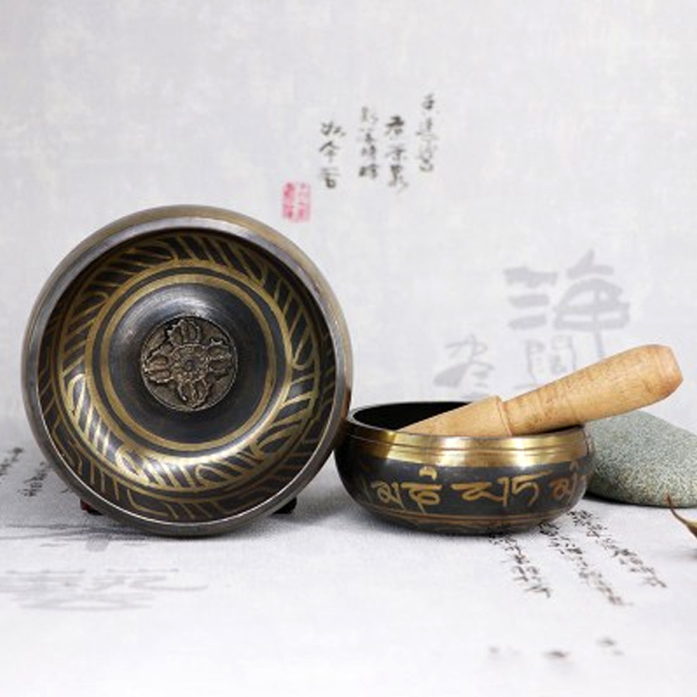Generous Tibetan Singing Bowl Set Singing Bowl With Striker For Meditation Relaxation Stress Relief At All Costs