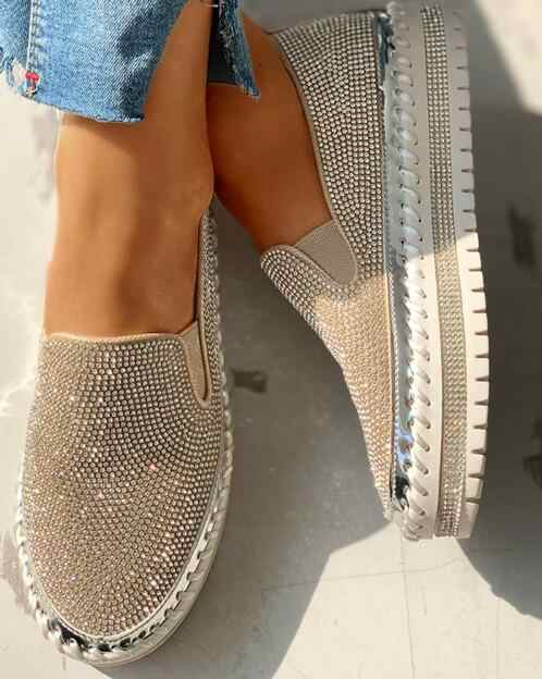 Vrouwen Casual Schoenen 2020 Nieuwe Mode Wedge Platte Schoenen Slip Op Lace Up Comfortabele Dames Sneakers Vrouwelijke Gevulkaniseerd Schoenen