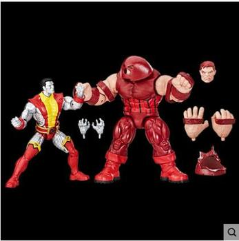 Marvel Legends 80th Anniversary Deadpool Juggernaut VS Colossus Set Action Figure Toys Model