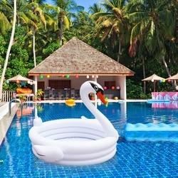 Zhenwei INS надувные белые лебеди в форме детей, Детский бассейн, пляжные вечерние игрушки, летние игрушки, игрушки для малышей