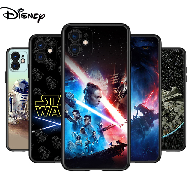 Silicone Cover Disney Star Wars For Apple IPhone 12 Mini 11 Pro XS MAX XR X 8 7 6S 6 Plus 5S SE Phone Case