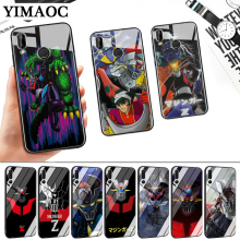 Mazinger Z New Stylish Glass Case for Huawei P10 P20 P30 Lite Pro P Smart Y6 Prime Y93 Mate 20