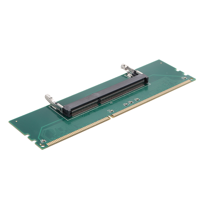 New DDR3 Laptop Riser Card Expanding Connector SODIMM To Desktop PC Memory DIMM RAM Adapter Expansion Cards For Notebook