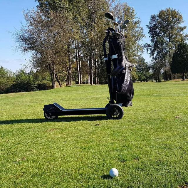 3 Wheel Golf Trolley Electric E Skateboard Self Balancing Scooter Long Range 500W Powerful Foldable For Club Free Shipping 3