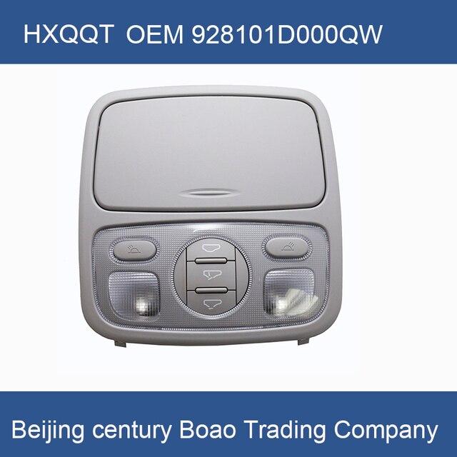 Lampe de toit ouvrant pour Console RONDO Carens 2007 2012, interrupteur de toit, OEM928101D000QW
