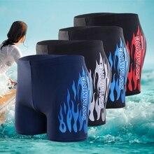 Men Swimwear Pants Summer Sexy Beach Shorts Swim Shorts Trunks New Swimsuit Men's Swimming Trunks Boxer Briefs