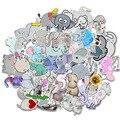 10/50 шт./лот водостойкая Милая наклейка в виде слона Мультяшные Животные наклейки для самостоятельного изготовления автомобиля ноутбука тел...