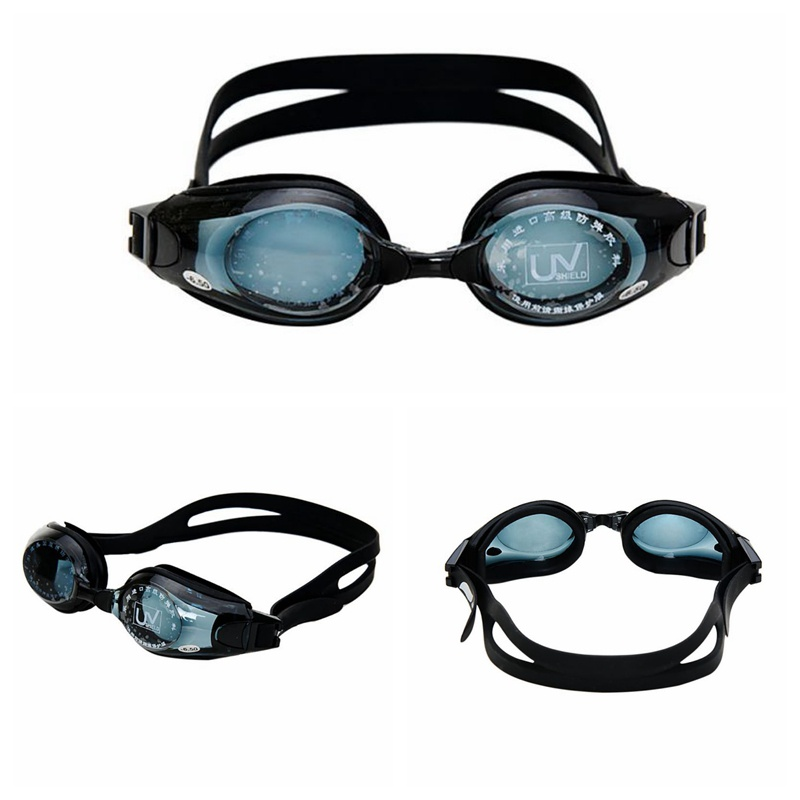 Unisex Swimming goggles waterproof myopia goggles -1.5 to -9.00 anti-fog silicone optical myopia nearsighted glasses