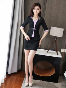 Working-Clothes Slimming-Suit Women Therapists-Wear Club Massage Sauna Bath-Foot Cosmetologist
