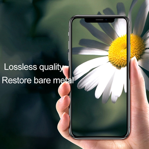 Image 5 - 2PCs Tempered Glass On For iPhone XS XR X 11 Pro Max Glass Camera Lens Screen Protector For iPhone 11 2019 Protective Glass Film