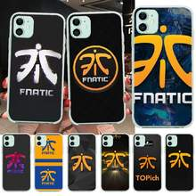 Nbdruicai LOL Fnatic FNC Anti-Dirty Lucu Ponsel Case Penutup Shell UNTUK iPhone 11 Pro XS MAX 8 7 6 6S Plus X 5S SE XR Cover(China)