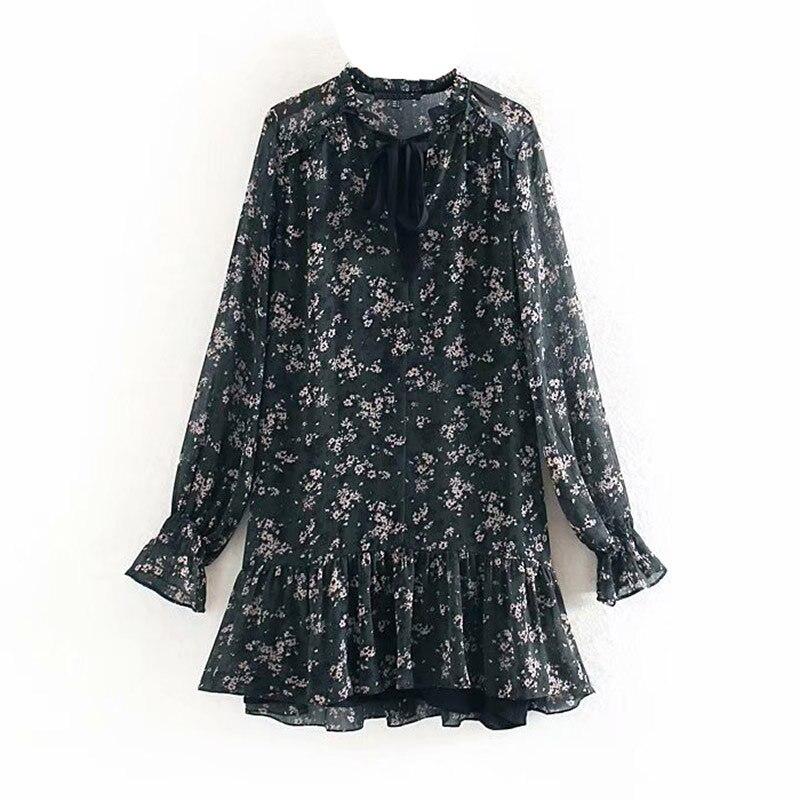 Vestido de festa floral do vintage do vintage do vestido da menina do vintage
