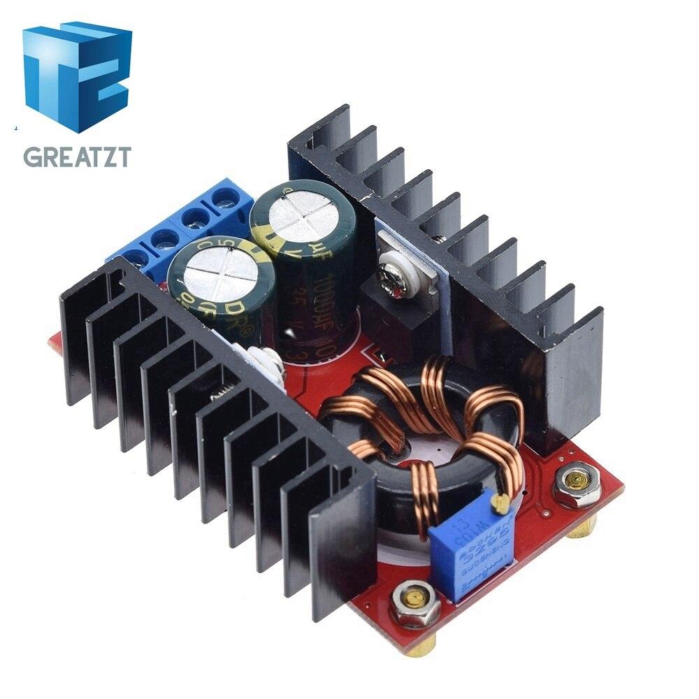 10-30 в до 12-35 В повышающий CV CC 150 Вт 10A DC повышающий преобразователь Автомобильный источник питания светодиодный драйвер зарядное устройство Р...