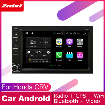 ZaiXi Android Car Multimedia Player 2 din car radio For Honda CRV 2004~2006 with navigation car stereo head unit Stereo ISP