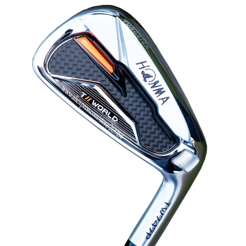 New Men Golf Clubs HONMA TW747P Golf Irons 4-11Sw Irons Clubs Graphite Shaft Regular Or Stiff Golf Shaft Cooyute Free Shipping