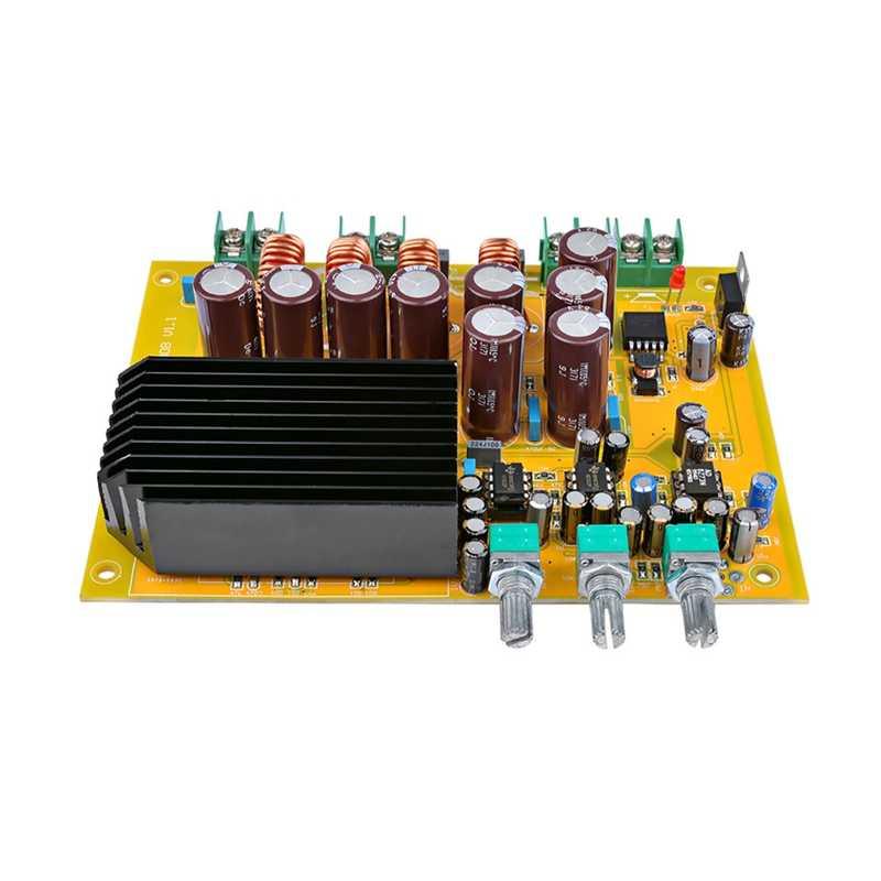 المهنية Tas5630 جهاز تضخيم الصوت مجلس الصوت فئة D 2.1 قناة مكبرات الصوت الرقمية 150Wx2 + 300 واط