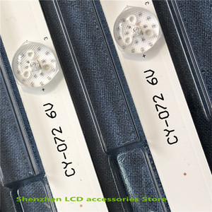 Image 5 - 2 ชิ้น/ล็อต 6LED(6V) 560 มม.LED BacklightสำหรับL32P1A 4C LB3206 HR03J HR01J 32D2900 32HR330M06A5 V5 100% ใหม่