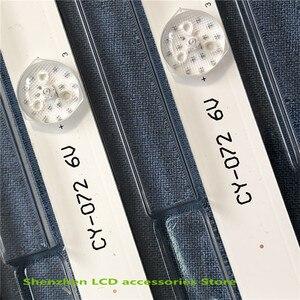 Image 5 - Светодиодная лента для подсветки L32P1A 4C LB3206 HR03J HR01J 32D2900 32HR330M06A5 V5, 2 шт./Лот, 6 светодиодов (6 в), 560 мм, новинка 100%
