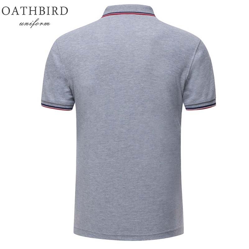 Image 3 - Atacado unisex design personalizado polo camisa com bordado seu próprio logotipo da empresaPolo