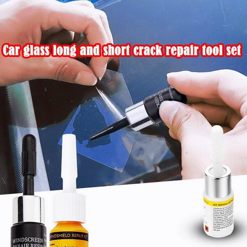 2020 New Car Windshield Repair Tool DIY Car Window Repair Tools Window Glass Curing Glue Auto Glass Scratch Crack Restore Kit