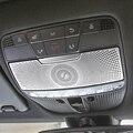 Светильник для чтения автомобиля Mercedes Benz C Class W205 GLC  декоративная накладка  декоративные полоски  рамки для внутреннего освещения на крышу  а...